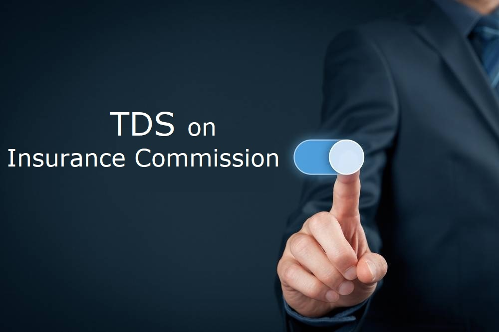 tds on insurance commission