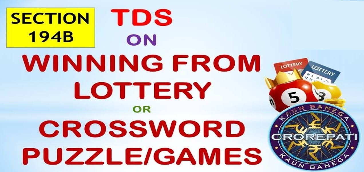 TDS on Winnings from lottery or crossword puzzle